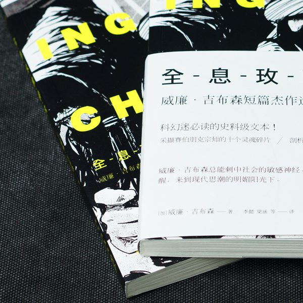 Best Chinese Book Design: Burning Chrome
