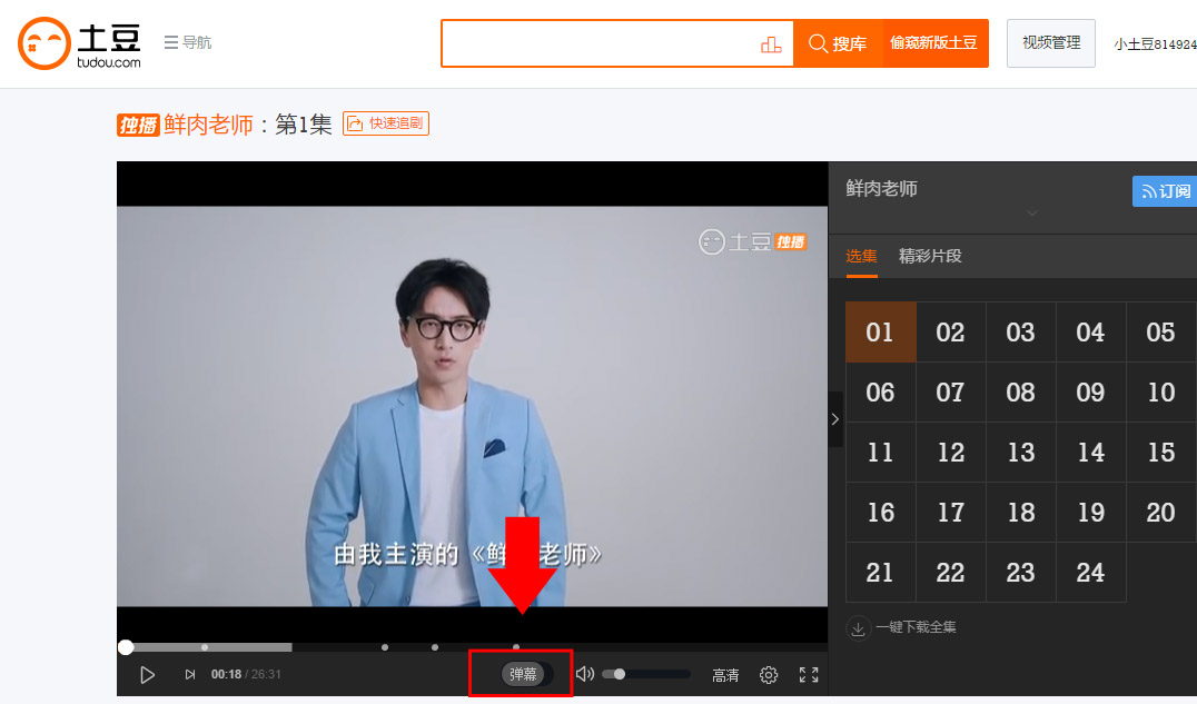 Chinese User Experience: What is Barrage Video